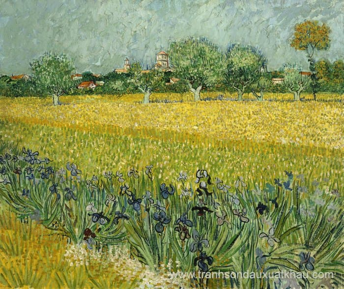 Field with Flowers near Arles - GOG-11