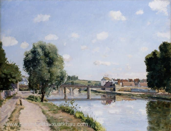 The Railroad Bridge, Pontoise
